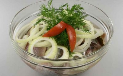 Marinated Herring—Marinerede Sild